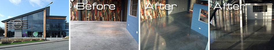 Barker & Stonehouse polished concrete