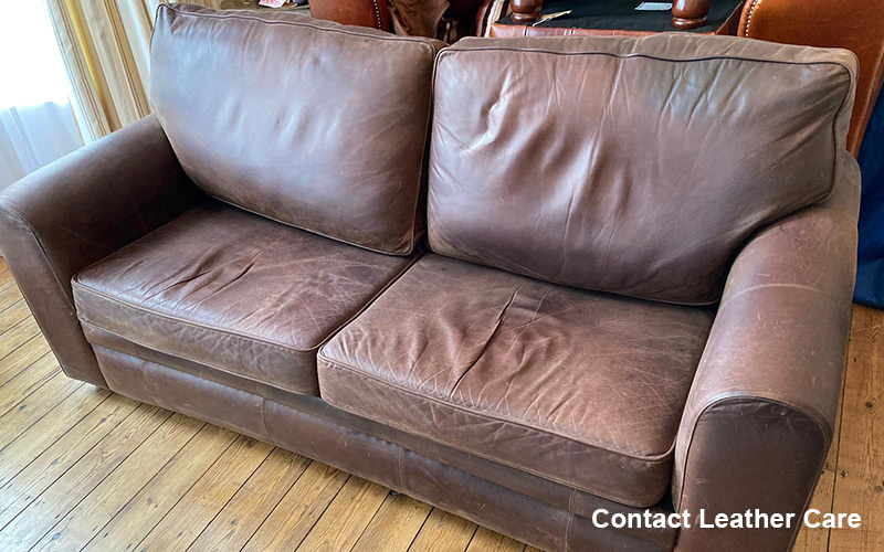 Leather sofa cleaning Stockton
